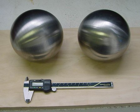 large tungsten balls